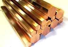 бронзовый пруток шестигранный