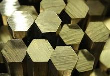 шестигранный латунный пруток
